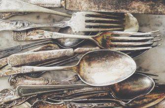 Причины потемнения столового серебра