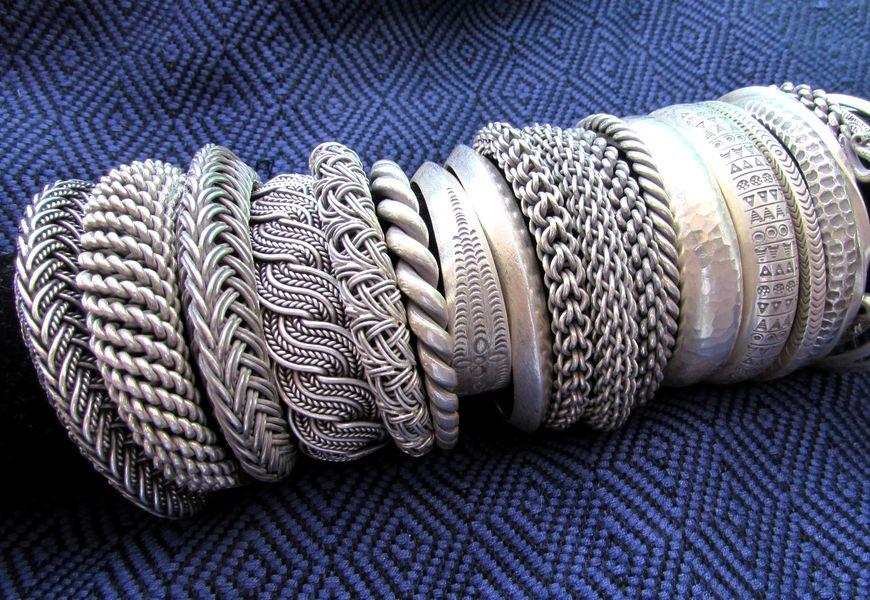 Виды и оттенки серебра