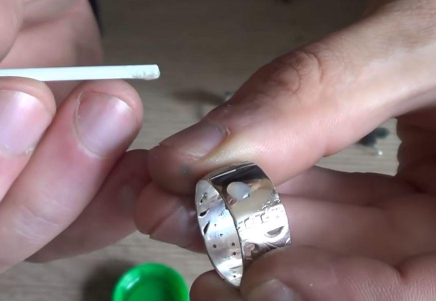 Проверка серебра на подлинность хлоркой