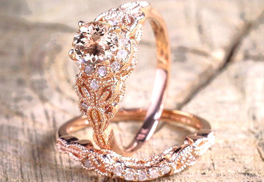 Востребованные украшения из розового золота