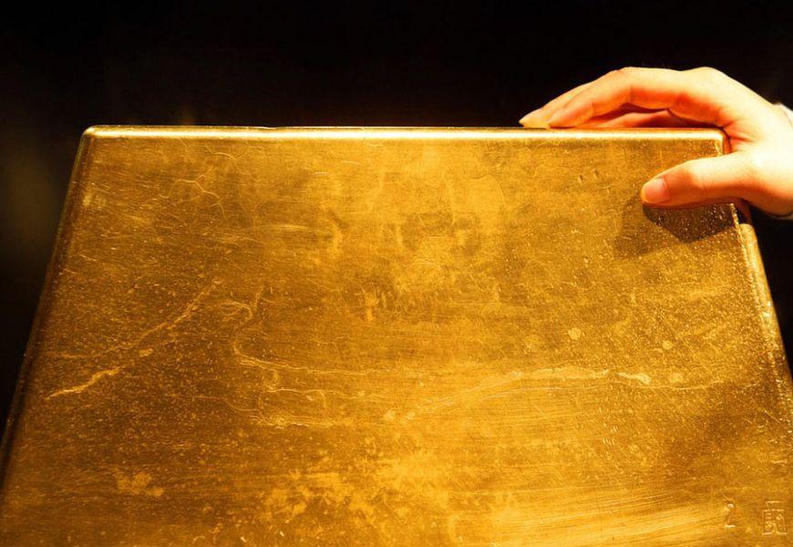 Сколько весит самый большой слиток золота