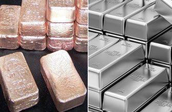 Слитки - серебро и медь