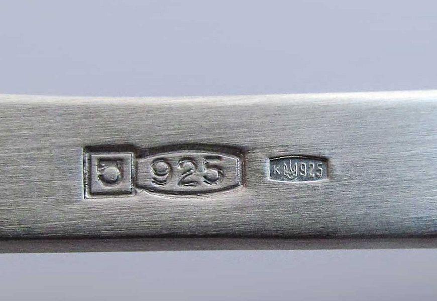 925 проба серебра
