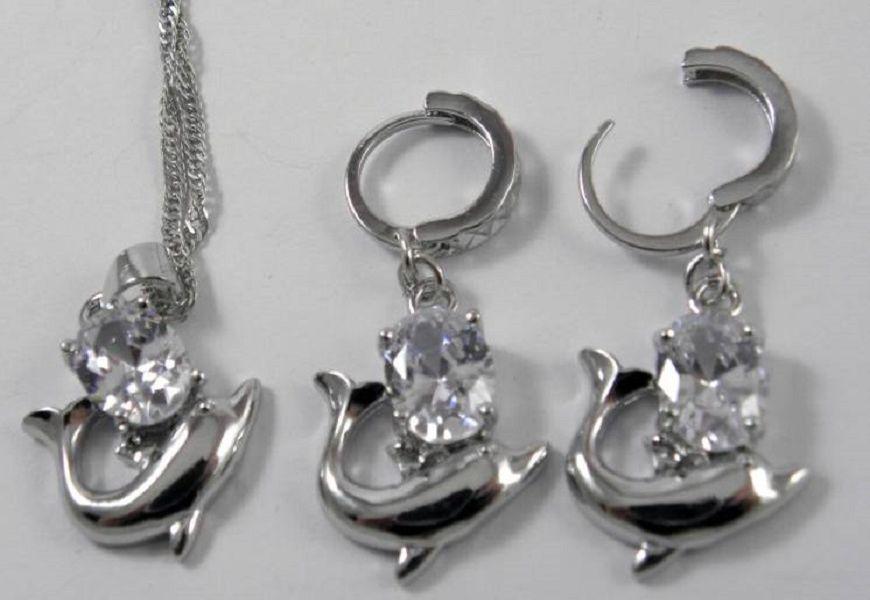 Набор 3 в 1 - стерлинговое серебро 925
