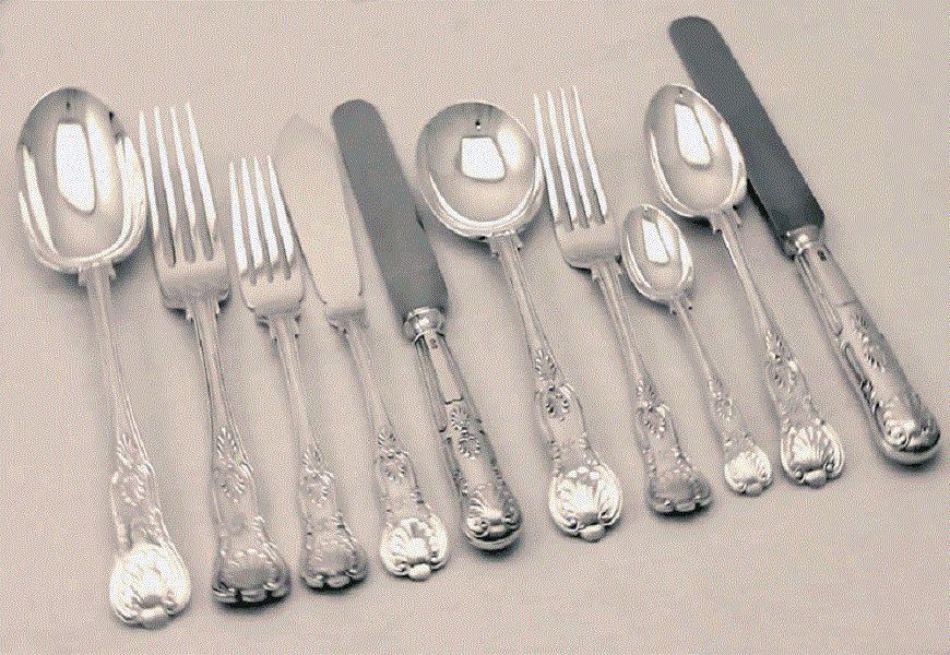 Столовое серебро: состав, проба, свойства