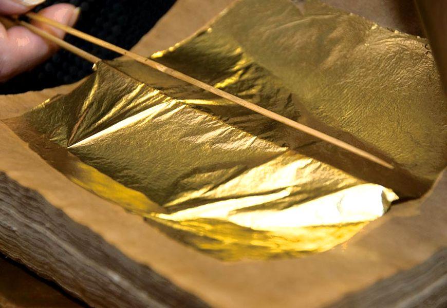Стоимость сусального золота