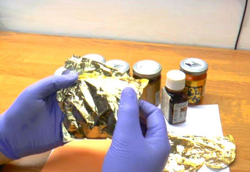 Сферы применения сусального золота