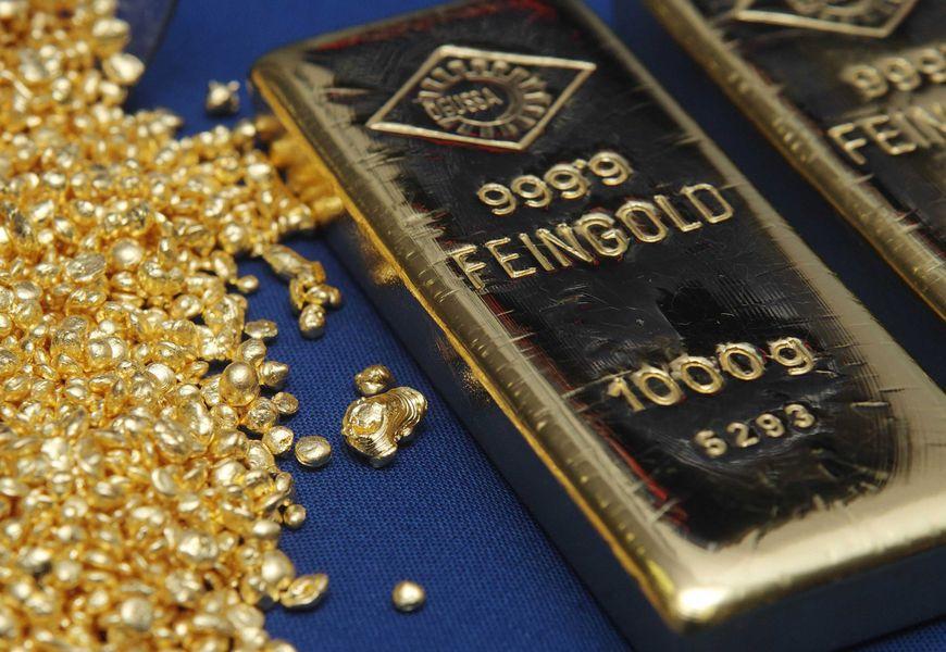 Динамика золотого запаса России за последние 5 лет