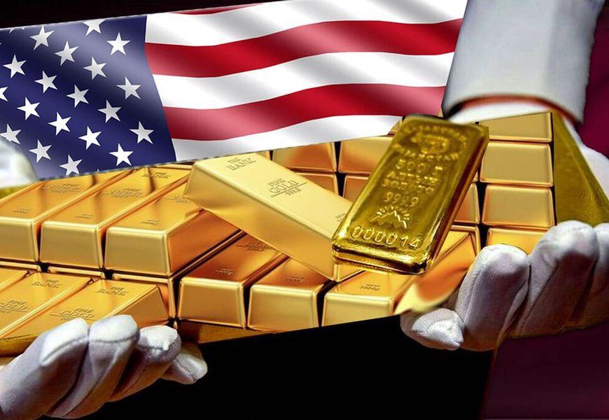 в какой стране больше всего золота – США