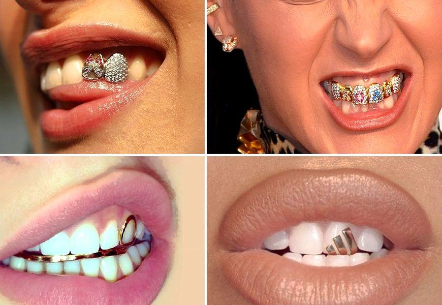 Украшения на зубы грилзы