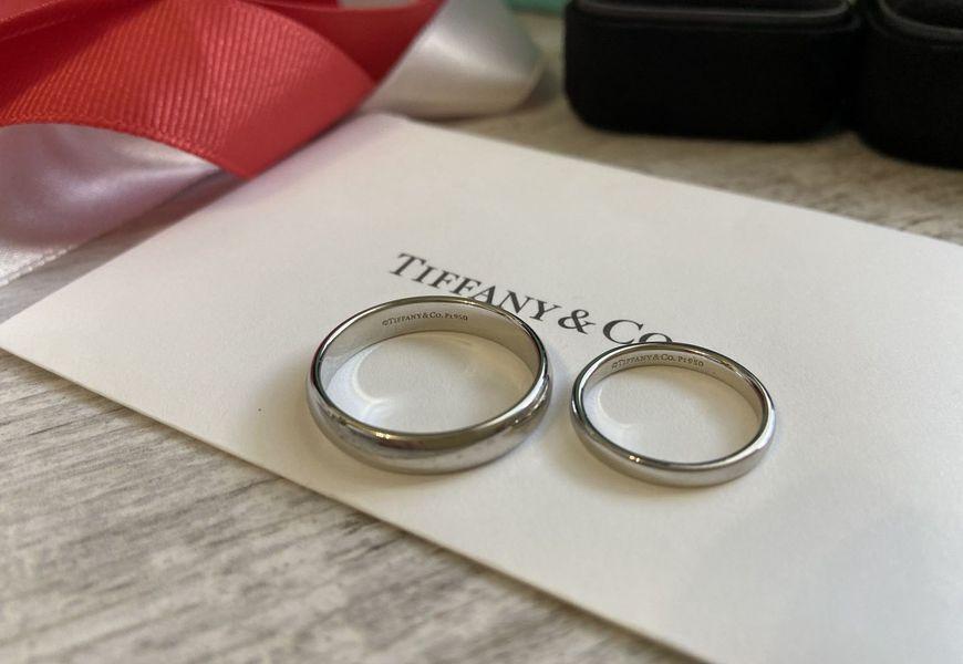 Брендовые платиновые кольца