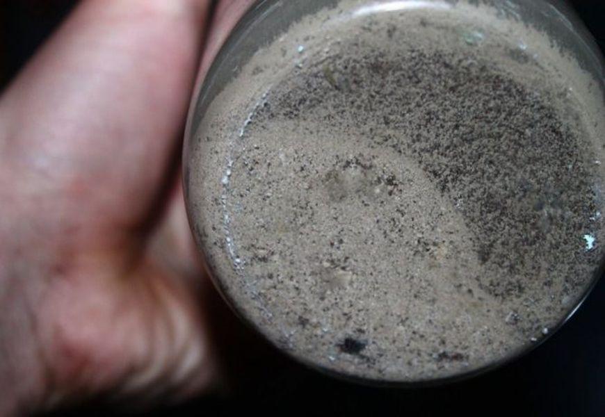 Аффинаж серебра азотной кислотой и осаждение медью